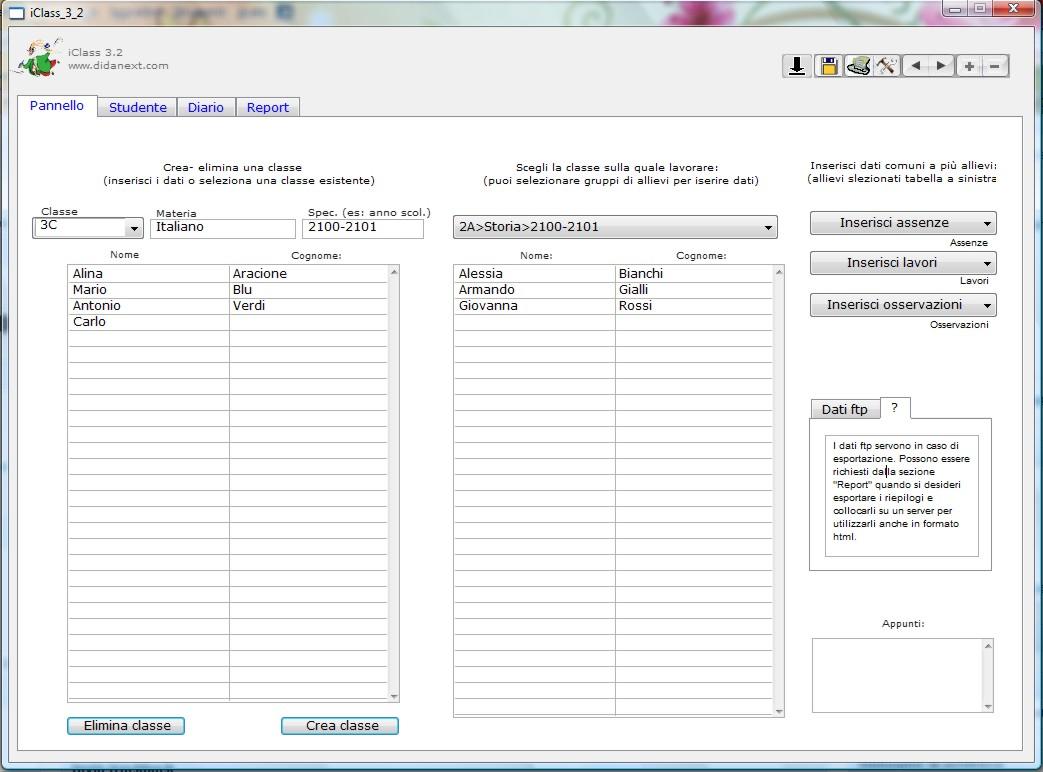 Registri elettronici sul proprio pc nicomarti blog for Programma per vedere telecamere da remoto